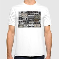 Wall Of Sound Mens Fitted Tee White SMALL