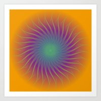 California Sunshine Art Print