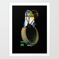 Pipeline / Plain Art Print