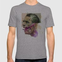 The Joker II Mens Fitted Tee Athletic Grey SMALL