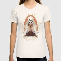 Ytuty Lord of Owls Womens Fitted Tee Natural SMALL