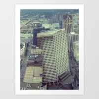 Obscure Me Milwaukee Art Print