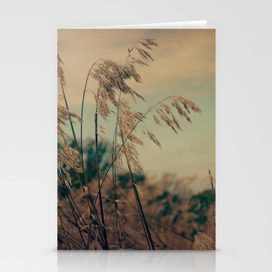 Winter Field Stationery Card