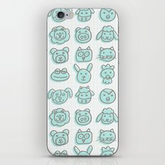 animal cuteness iPhone & iPod Skin