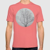The Fog  Mens Fitted Tee Pomegranate SMALL