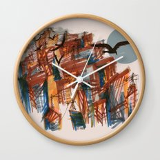 The City pt. 2 Wall Clock
