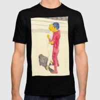 Lisa/kei/milhouse/kaneda - Bartkira Mens Fitted Tee Black SMALL