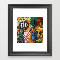 Canned Jazz Framed Art Print