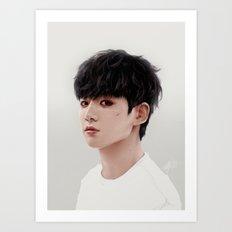 Jungkook Art Print