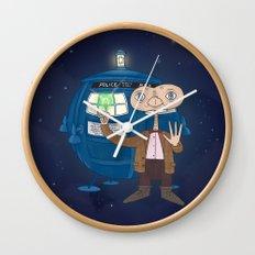 Dr. Who E.T. Wall Clock