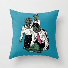 Z-gans Throw Pillow
