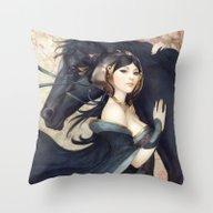 Pepper Empress Throw Pillow