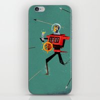 The Time Travelling Pira… iPhone & iPod Skin