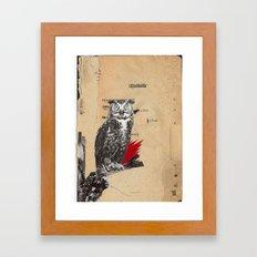 wise guy Framed Art Print