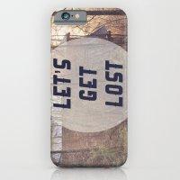 Let's Get Lost iPhone 6 Slim Case