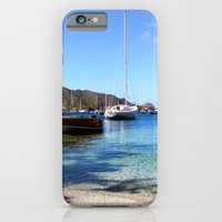 iPhone & iPod Case featuring bequia harbor by Sheana Firth