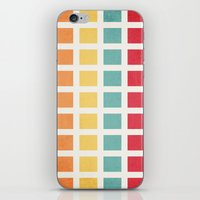 Be There Or Be... iPhone & iPod Skin