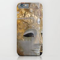 iPhone & iPod Case featuring Masquerade ball by AntWoman