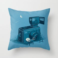 Quitting Time Throw Pillow