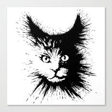 Inkcat4 Canvas Print