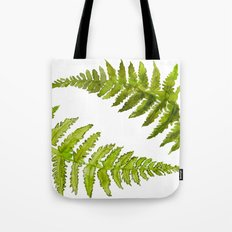 Etched Into Nature No.1 Forest Ferns Tote Bag