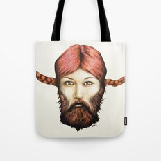 Wendy, The Bearded Lady Tote Bag