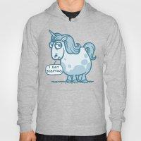 Overweight Unicorn (mono… Hoody
