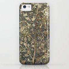 Old gold iPhone 5c Slim Case
