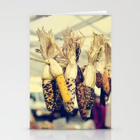 Indian Corn At The Farme… Stationery Cards
