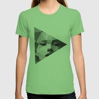 Monroe Womens Fitted Tee Grass SMALL