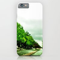 iPhone & iPod Case featuring The grey sky makes the green pop. by John Martino