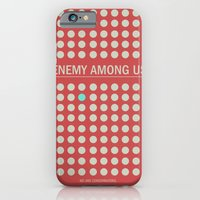 iPhone & iPod Case featuring Enemy Among Us I by WeTheConspirators