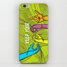 Keep Cool iPhone & iPod Skin