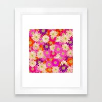 Flowers 02 Framed Art Print
