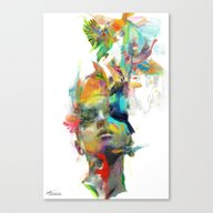 Canvas Print featuring Dream Theory by Archan Nair
