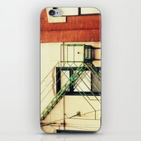 Fire Escape Chicago iPhone & iPod Skin