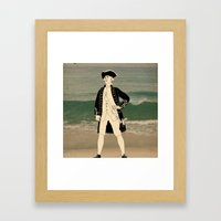 Great explorers - Captain James Cook Framed Art Print