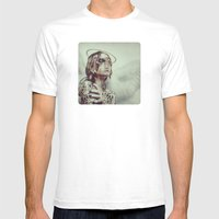 Dissimulation Mens Fitted Tee White SMALL