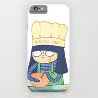 iPhone & iPod Case featuring Kiss the Chef by Binnyboo