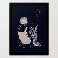 balloon Art Prints featuring Balloon by Vanessa Dakinsky