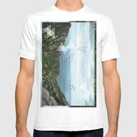 Montserrat, Barca Mens Fitted Tee White SMALL