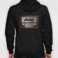 Embossed Steel Jeep Logo… Hoody