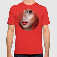 Under the Sea Mens Fitted Tee Red SMALL