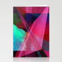 Geometric Drawing Stationery Cards
