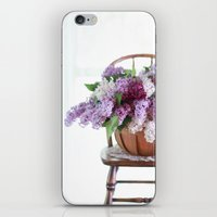 Bouquet of Beautiful - Lilacs  iPhone & iPod Skin
