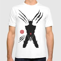 WOLVERINE Mens Fitted Tee White SMALL