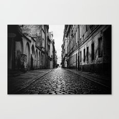 To the End Canvas Print