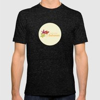 Welcome Autumn Mens Fitted Tee Tri-Black SMALL
