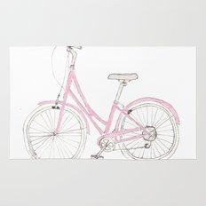 Pink Bike Rug