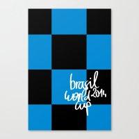 Brazil World Cup 2014 - … Canvas Print